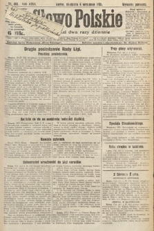 Słowo Polskie. 1921, nr393