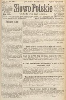 Słowo Polskie. 1921, nr394