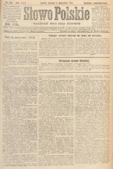 Słowo Polskie. 1921, nr396