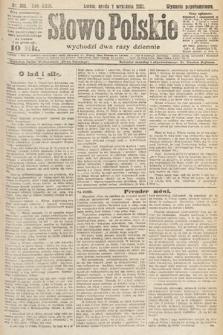 Słowo Polskie. 1921, nr398