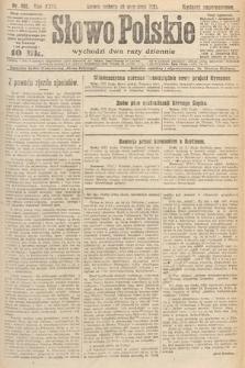Słowo Polskie. 1921, nr402