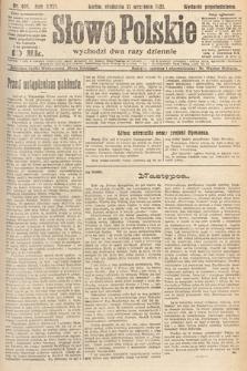 Słowo Polskie. 1921, nr404