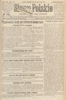 Słowo Polskie. 1921, nr405