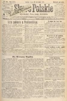 Słowo Polskie. 1921, nr419