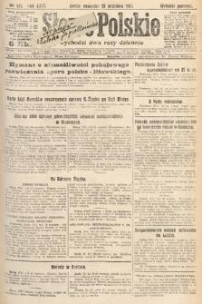 Słowo Polskie. 1921, nr421
