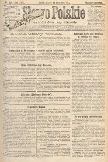 Słowo Polskie. 1921, nr423