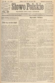 Słowo Polskie. 1921, nr424