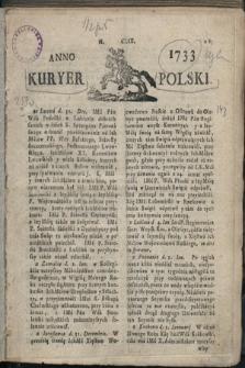 Kuryer Polski. 1733, nr159