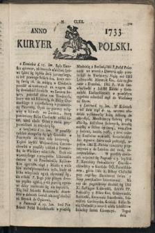 Kuryer Polski. 1733, nr162