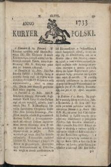 Kuryer Polski. 1733, nr167
