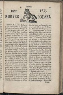 Kuryer Polski. 1733, nr174