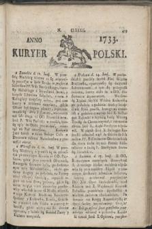 Kuryer Polski. 1733, nr182