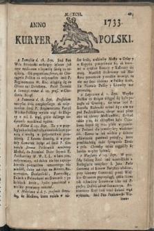 Kuryer Polski. 1733, nr196