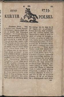 Kuryer Polski. 1733, nr201