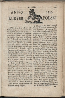 Kuryer Polski. 1733, nr205