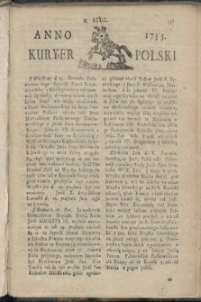 Kuryer Polski. 1733, nr209