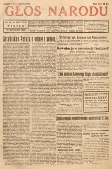 Głos Narodu. 1936, nr16