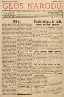 Głos Narodu. 1936, nr20