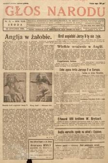 Głos Narodu. 1936, nr21