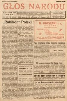 Głos Narodu. 1936, nr38
