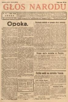 Głos Narodu. 1936, nr42