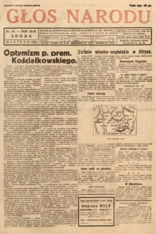 Głos Narodu. 1936, nr49