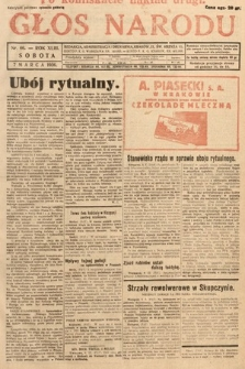 Głos Narodu. 1936, nr66