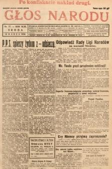 Głos Narodu. 1936, nr77