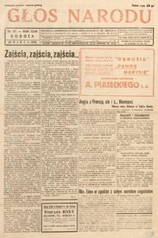Głos Narodu. 1936, nr87