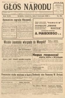 Głos Narodu. 1936, nr92