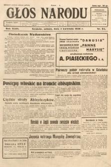 Głos Narodu. 1936, nr94