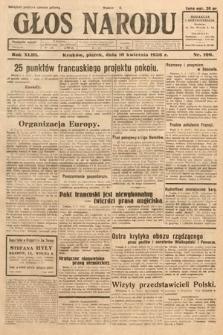 Głos Narodu. 1936, nr100