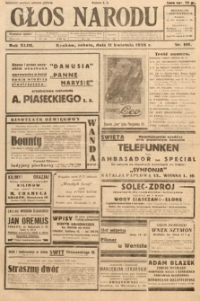 Głos Narodu. 1936, nr101