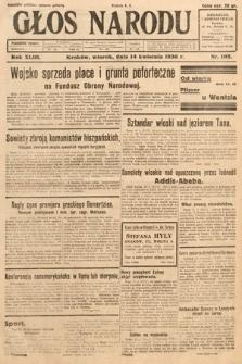 Głos Narodu. 1936, nr102
