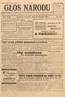 Głos Narodu. 1936, nr104