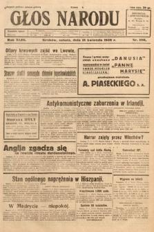 Głos Narodu. 1936, nr106