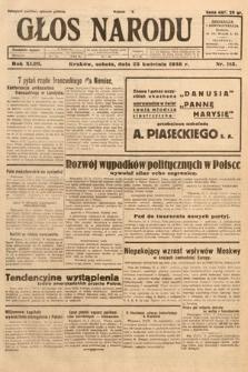 Głos Narodu. 1936, nr113
