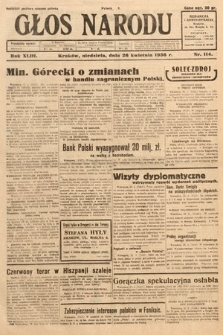 Głos Narodu. 1936, nr114