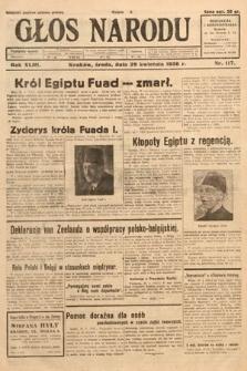 Głos Narodu. 1936, nr117