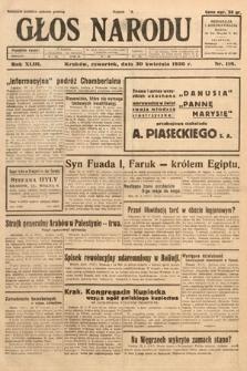 Głos Narodu. 1936, nr118