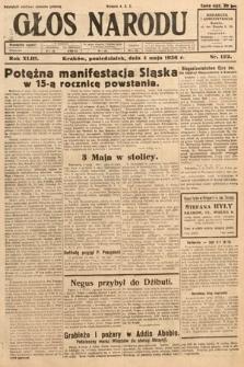 Głos Narodu. 1936, nr122