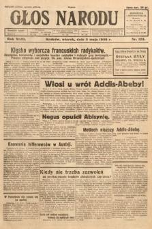 Głos Narodu. 1936, nr123