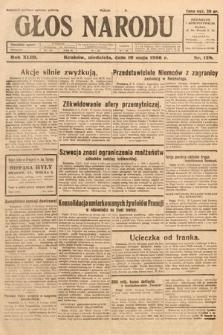 Głos Narodu. 1936, nr128