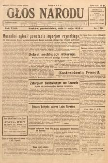 Głos Narodu. 1936, nr129