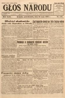 Głos Narodu. 1936, nr143