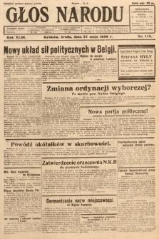 Głos Narodu. 1936, nr145