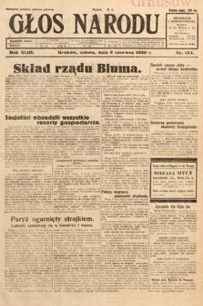 Głos Narodu. 1936, nr154