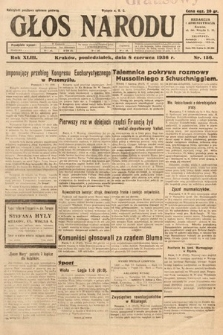 Głos Narodu. 1936, nr156