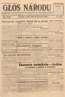 Głos Narodu. 1936, nr158