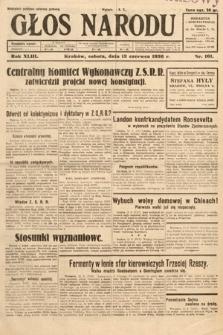 Głos Narodu. 1936, nr161